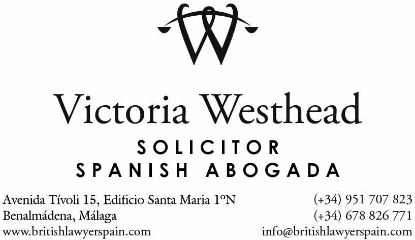 Victoria Westhead, Solicitor and spanish lawyer in Antequera